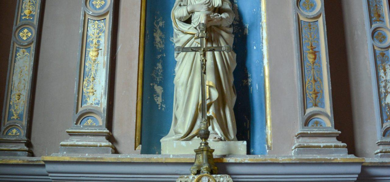 Statuette église